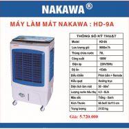 Máy làm mát không khí NAKAWA HD-9A